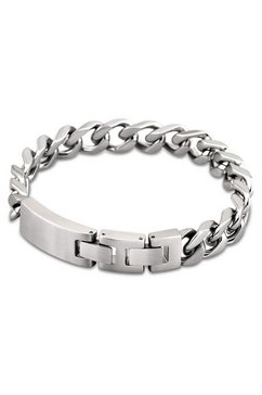 lotus style edelstalen armband, »men in black, ls1553-2-1« zilver