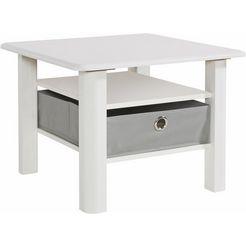 salontafel met wit decor grijs