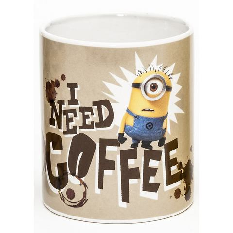 JOY TOY Kopje Minions I need coffee