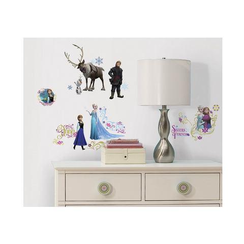 Disney RoomMates Muursticker Frozen - Multi