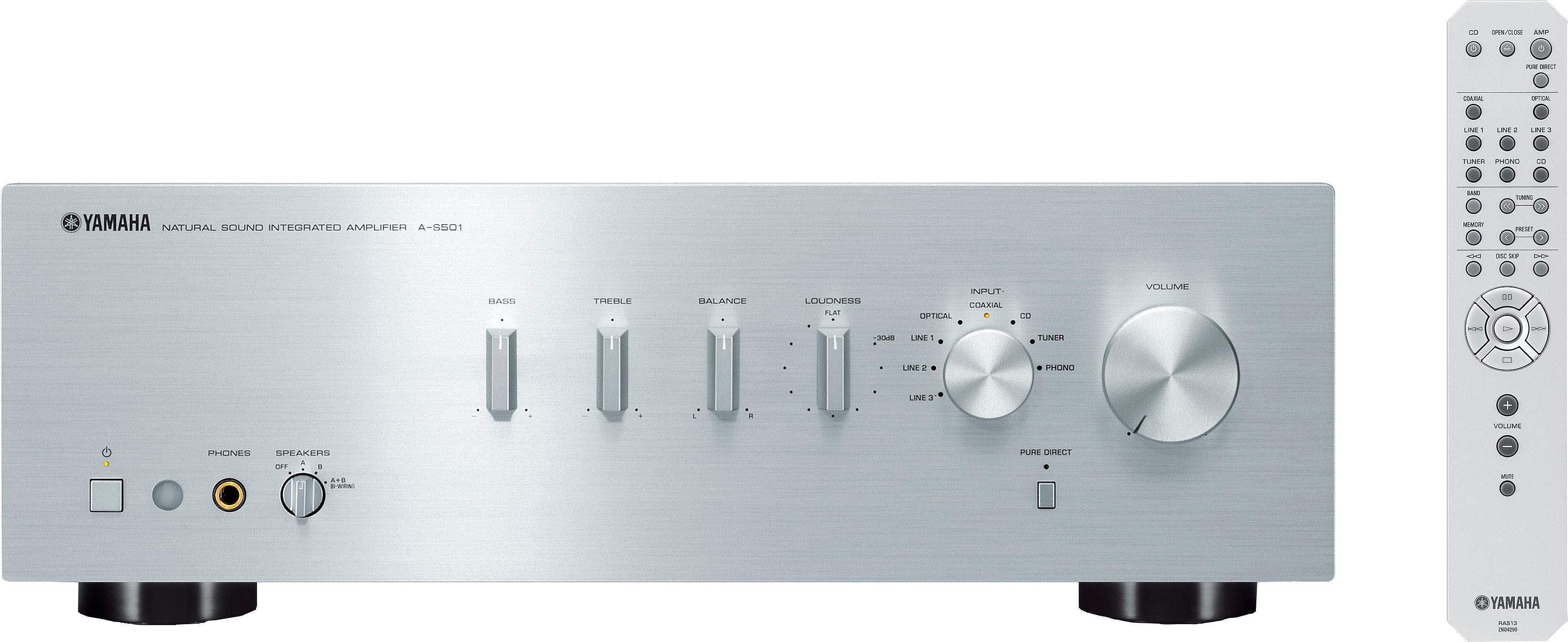 Yamaha A-S501 stereo-versterker - verschillende betaalmethodes