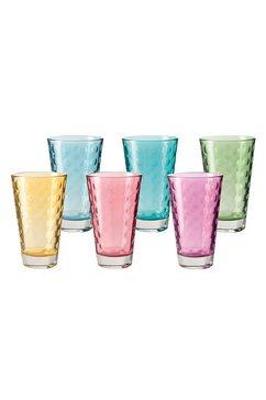 beker, glas (6-dlg.)