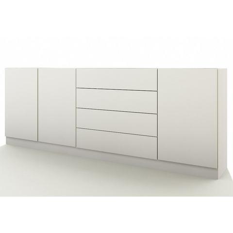 Dressoirs Sideboard Vaasa met push-to-open-functie 436036