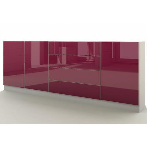 Dressoirs Sideboard Vaasa met push-to-open-functie 509017