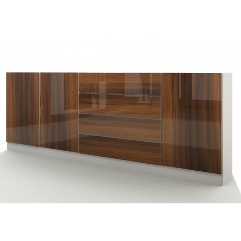 Dressoirs Sideboard Vaasa met push-to-open-functie 547031