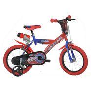 dino kinderfiets, 12-14 of 16 inch, »spiderman« rood
