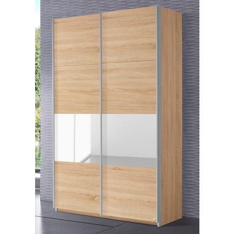 Kledingkasten RAUCH Zweefdeurkast met glas of spiegels 336001