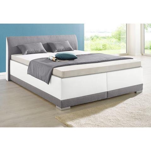 MAINTAL Bed met of zonder bedkist 5 zones koudschuimmatras H2 wit Maintal 376186