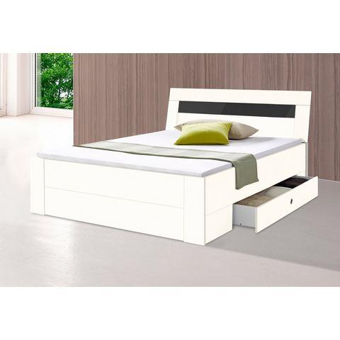 Bed met bergruimte wit Wimex 525188