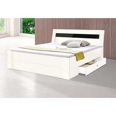 Bed met bergruimte wit Wimex 813607