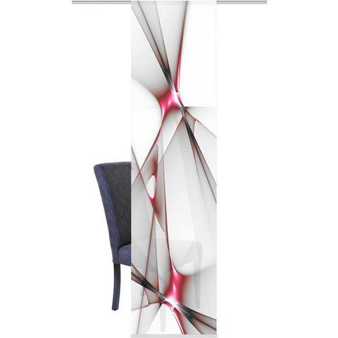 Paneelgordijn, HOME WOHNIDEEN, »FRANKLIN« (per stuk met accessoires)