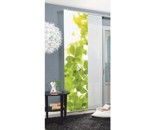 Paneelgordijn home wohnideen leaf per stuk met for Wohnideen accessoires