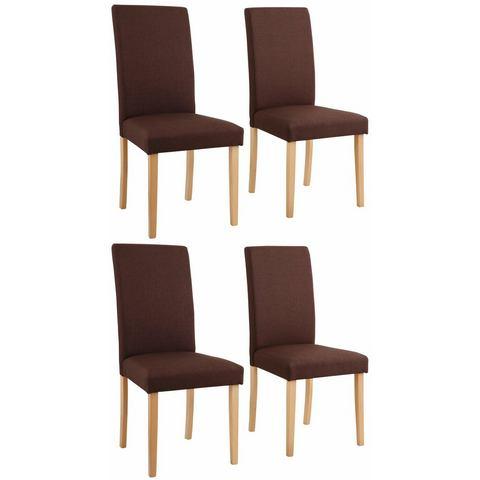 Eetkamerstoelen HOME AFFAIRE stoel Roko Tiago bekleding van structuurstof in set van 2 set van 4 of set van 6 552043