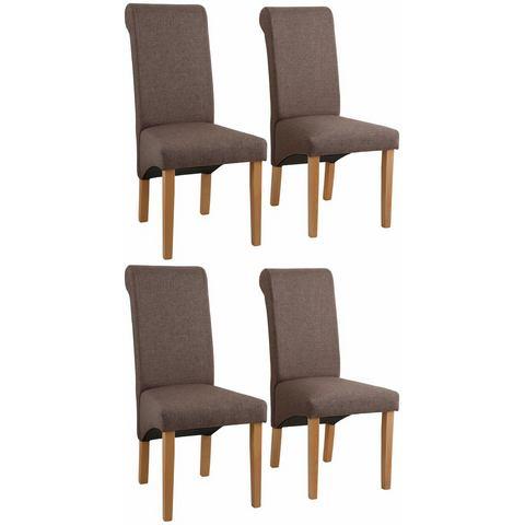 HOME AFFAIRE stoel »Rito Tiago«, met structuurstof, in set van 2, 4 of 6