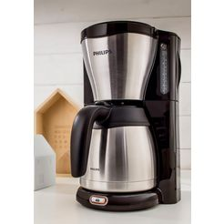 philips filterkoffieapparaat hd7546-20 thermo, 1,2 l zilver