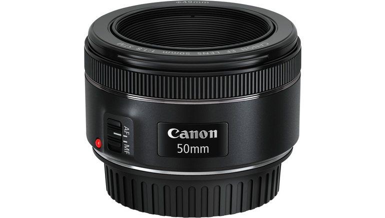 Canon EF 50mm 1:1,8 STM Vast brandpunt Objectief