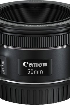 EF 50mm 1:1,8 STM Vast brandpunt Objectief