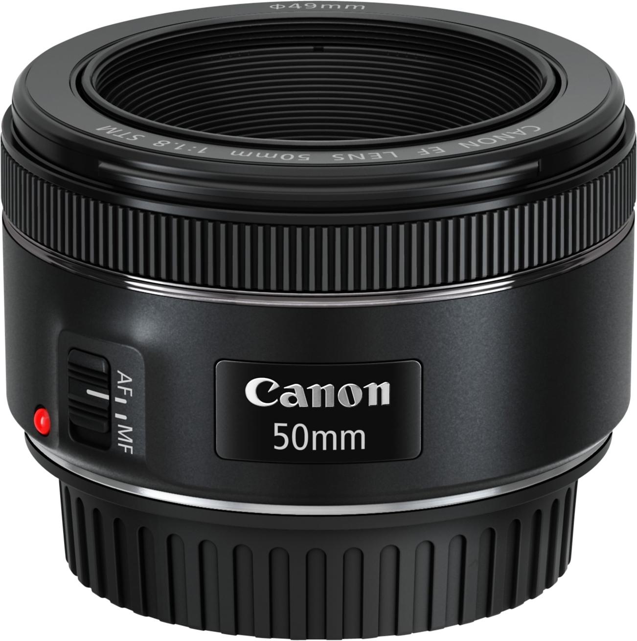 Canon EF 50mm 1:1,8 STM Vast brandpunt Objectief in de webshop van OTTO kopen