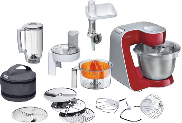 bosch keukenmachine styline mum56740 met extra accessoires deep red 900 watt online bij otto. Black Bedroom Furniture Sets. Home Design Ideas