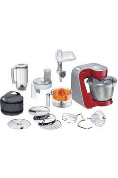 Keukenmachine Styline MUM56740, met extra accessoires, deep-red, 900 Watt