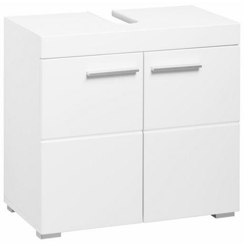 WELLTIME kast Amanda witte badkamer wastafelonderkast 24