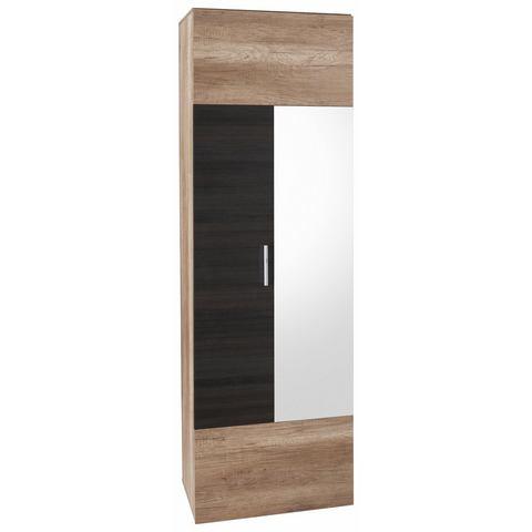 Garderobekast Polo met spiegel