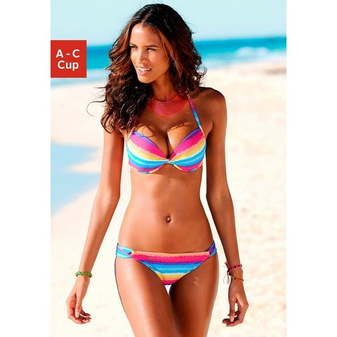 CHIEMSEE Push-up-bikini in neonkleuren