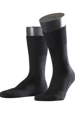 falke sokken run zwart
