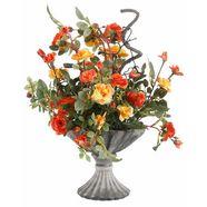 home affaire kunstbloemen wilde rozen roze