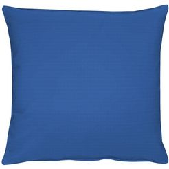 kussenovertrek, apelt, »4362 rips uni« (per stuk) blauw