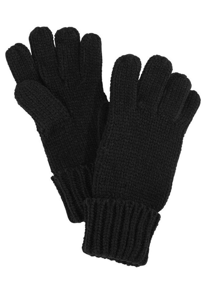 J. JAYZ Gebreide handschoenen met omslagboord