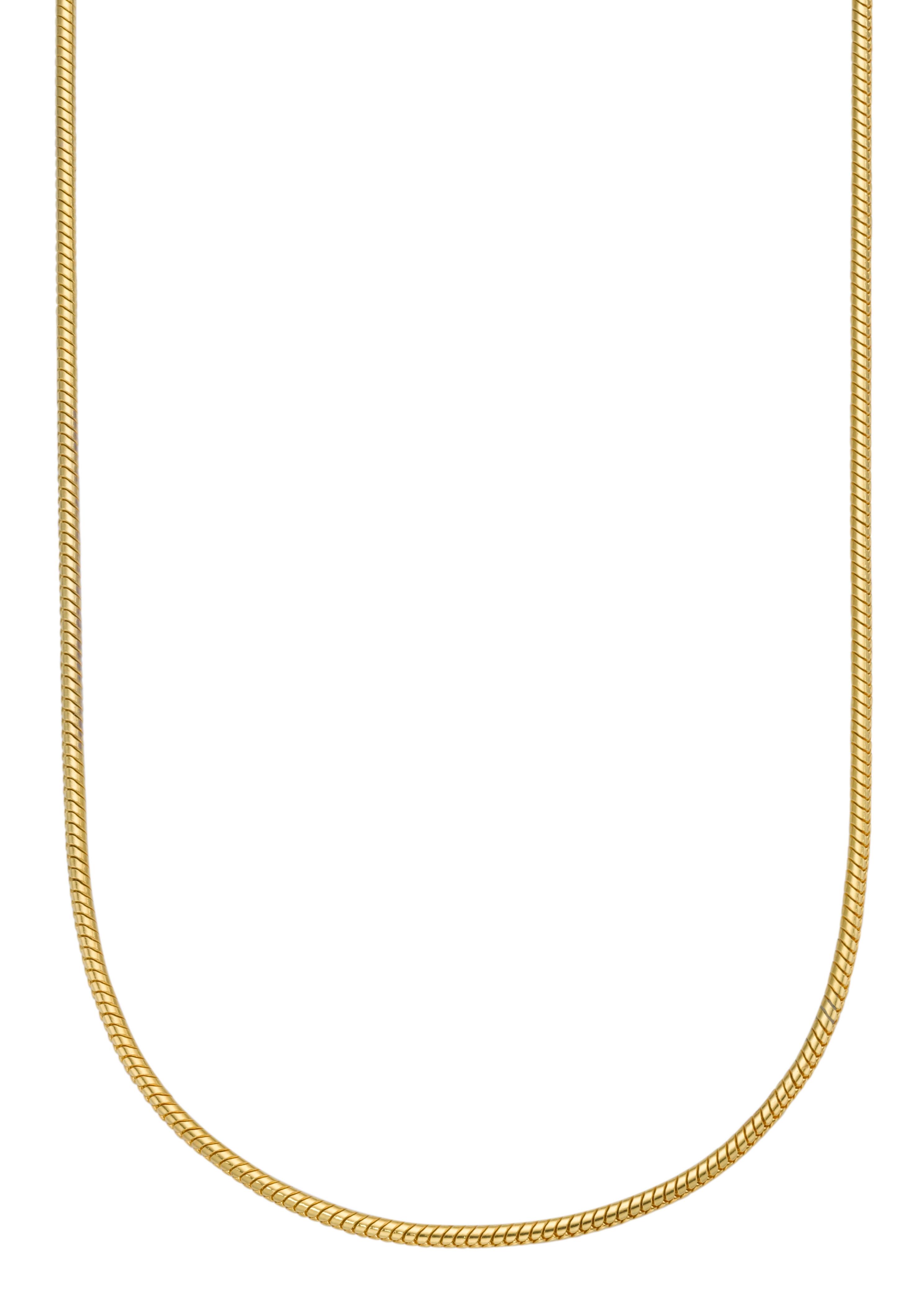 Firetti edelstalen ketting Met slangenkettingschakels, 1,5 mm breed, goudkleur Made in Germany in de webshop van OTTO kopen