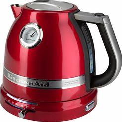 kitchenaid waterkoker artisan 5kek1522eca rood rood