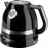 kitchenaid waterkoker 5kek1522eob, 1,5 l, onyx zwart zwart
