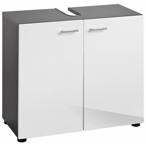 Wastafelonderkast Tetis witte badkamer onderkast 233