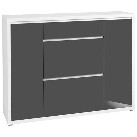 Kasten  vitrinekasten Kast Spazio van houtmateriaal 247224