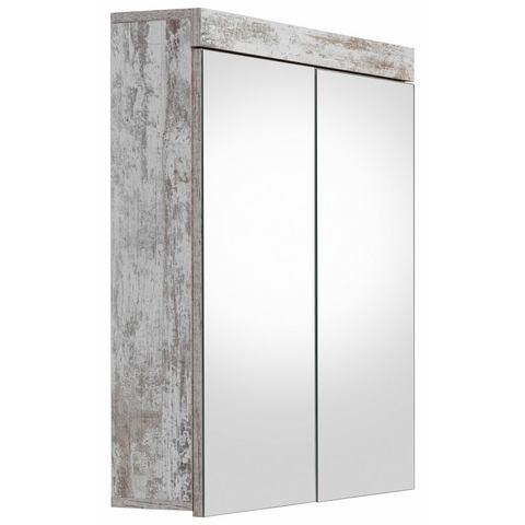 kast Cancun bruine badkamer spiegelkast 3