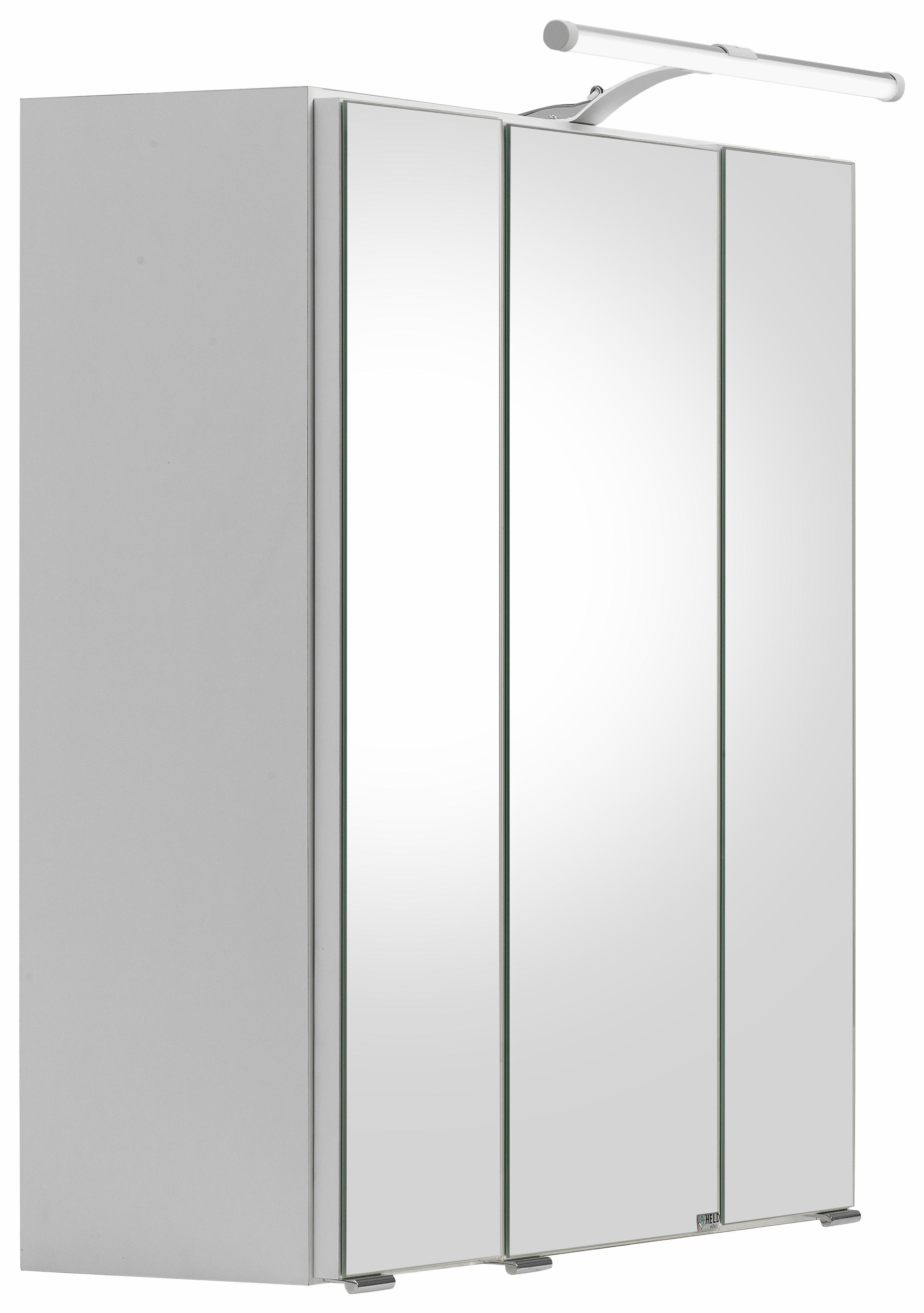 held moebel spiegelkast portofino met led verlichting wit