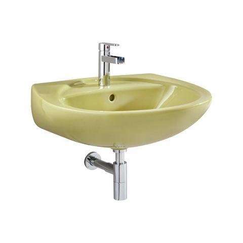 Sanitair Wasbak Mosgroen 647260