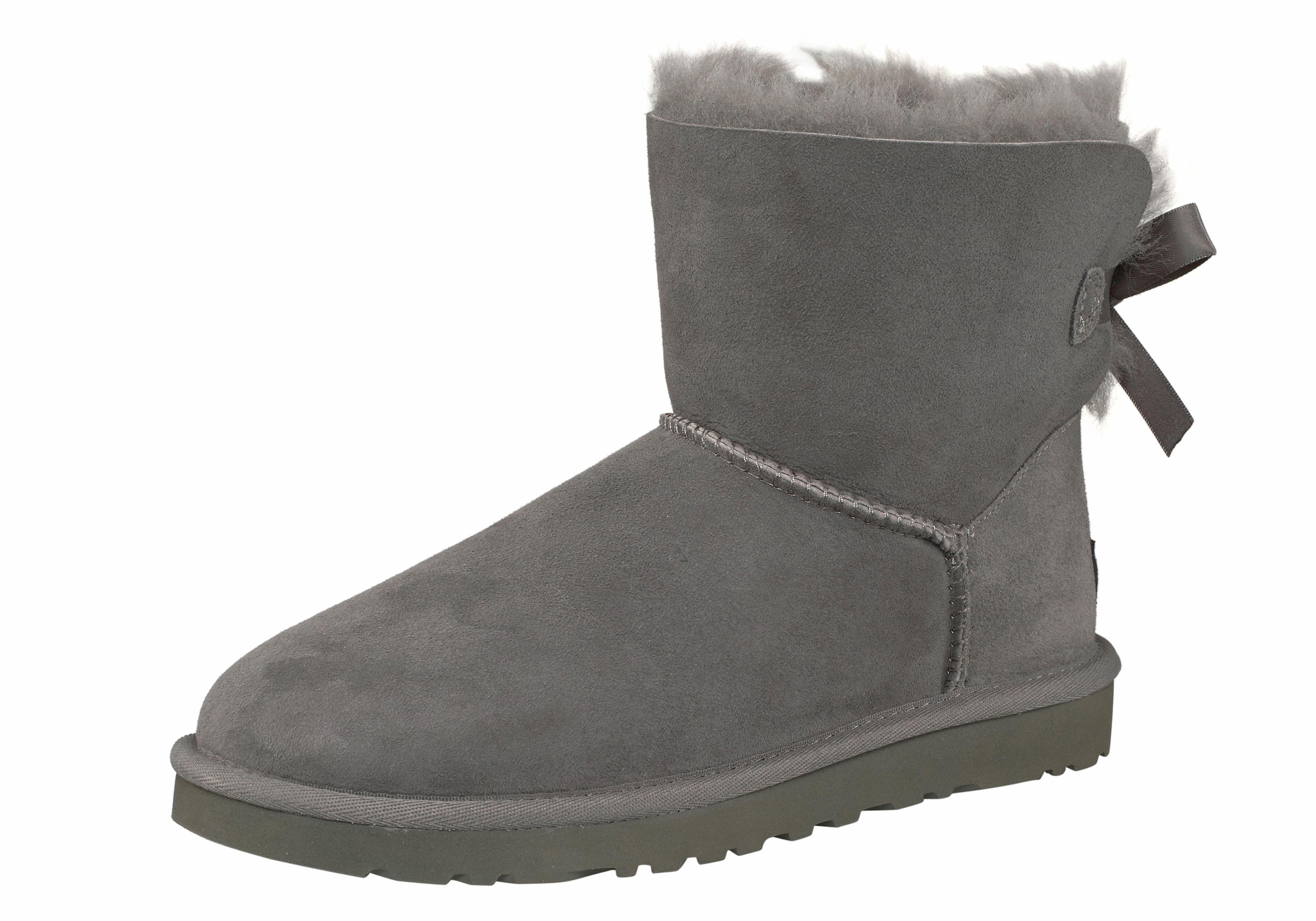 UGG Boots zonder sluiting Mini Bailey Bow 2 met decoratieve strik voordelig en veilig online kopen