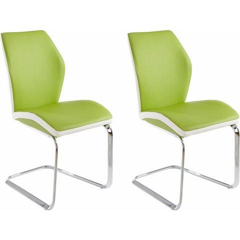 Eetkamerstoelen Vrijdragende stoel in voordelige set van 2 of 4 538595