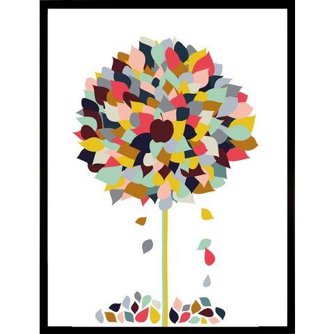 G&C ingelijste artprint Appletree, 33x43 cm