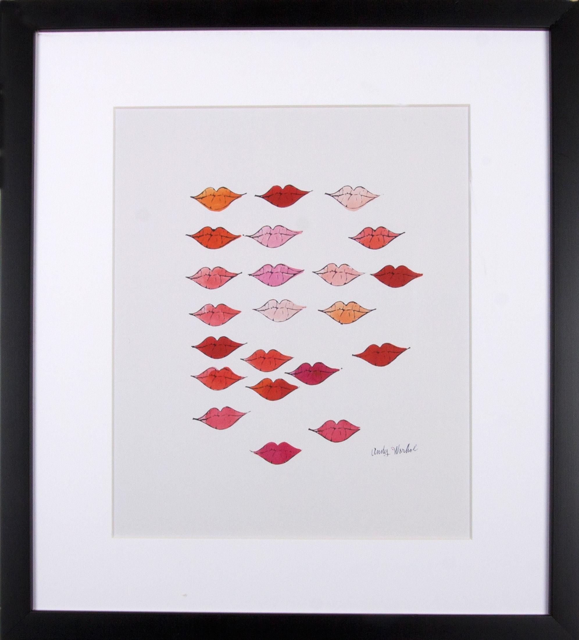 Home Affaire G&C ingelijste artprint Andy Warhol, »Mooie rode lippen«, 33x43 bij OTTO online kopen
