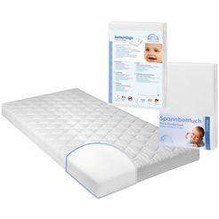 set: matras voor baby's  peuters, onderlegger  hoeslaken, »jan 1«, zoellner (3-dlg.)