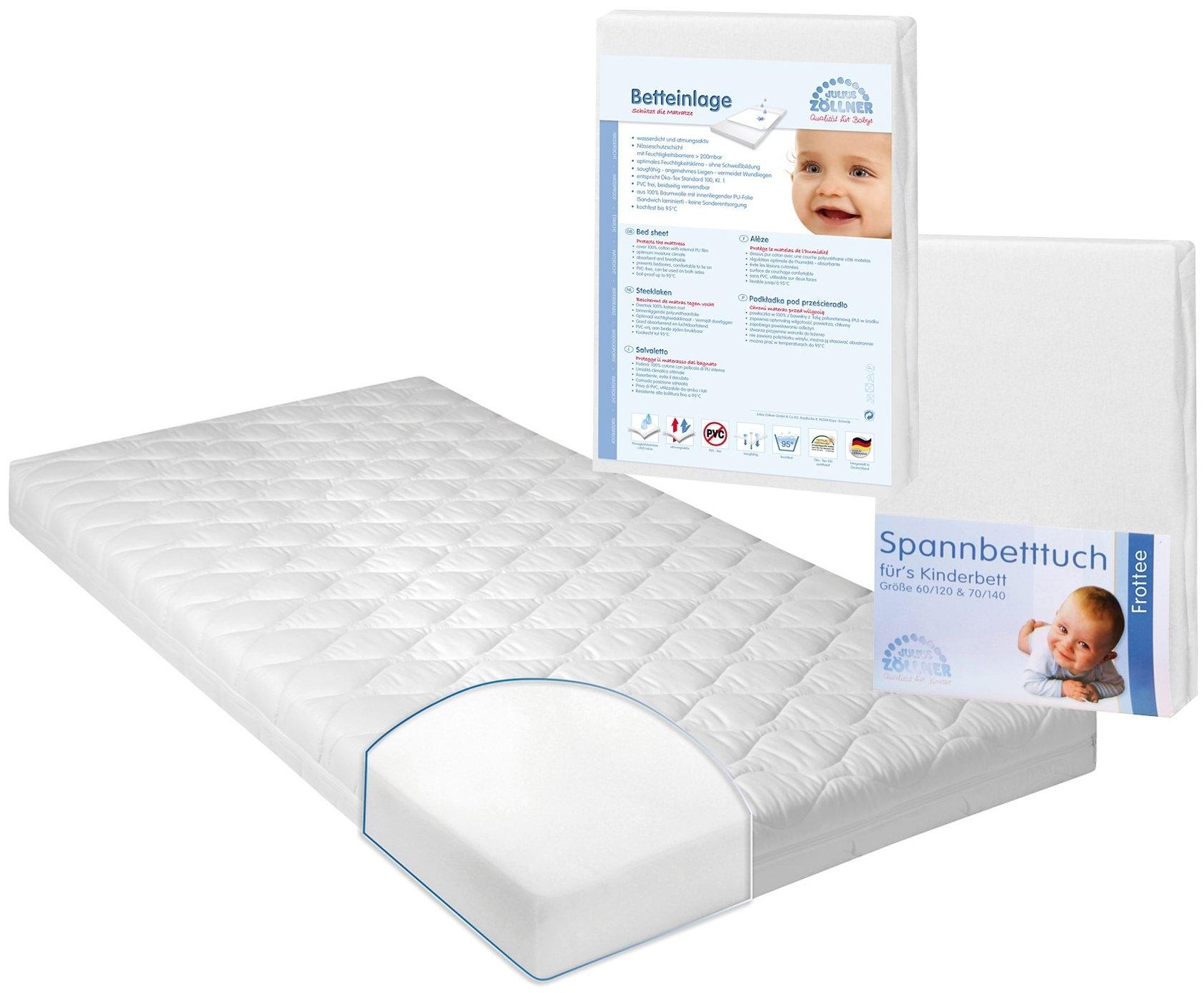 Op zoek naar een Zöllner Set: matras voor baby's & peuters, onderlegger & hoeslaken, »Jan 1«, ZÖLLNER (3-dlg.)? Koop online bij OTTO