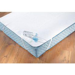 matrasdek, »waterdichte en ventilerende premium-matrasdek«, dormisette »protect  care«, waterdicht wit