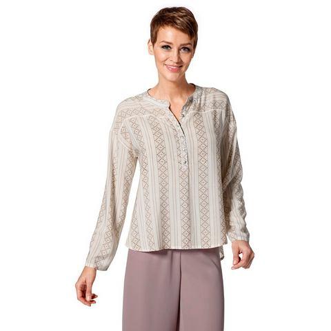 NU 15% KORTING: Gedessineerde blouse