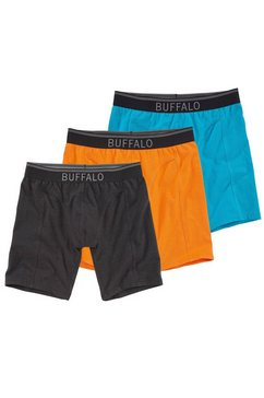 buffalo lange boxer in set van 3 multicolor