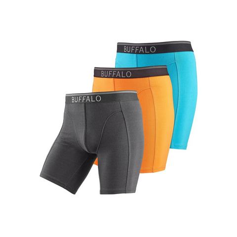 BUFFALO Lange boxershort in set van 3