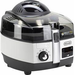 de'longhi airfryer multifry extra chef fh1394 multicooker met 4-in-1 functie, ook voor broodbakken wit